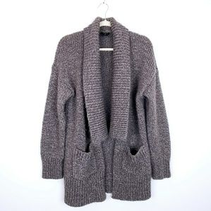 [Ann Taylor] Chunky Knit Cardigan Sweater